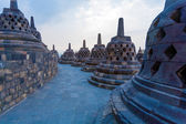 Ancient Borobudur Buddhist Temple — Stock Photo