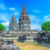 Prambanan hindoe tempel, java — Stockfoto