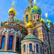Church of Savior on Blood, St. Petersburg - Stok fotoğraf