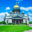 Saint Isaac's Cathedral, St. Petersburg — Stock Photo