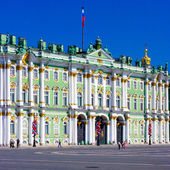 Hermitage Museum in Winter Palace — Stock Photo