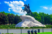 Bronze Horseman - Peter the Great Statue — Stock Photo