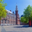 Grote Kerk (Big Church),  Hague, Holland - 图库照片