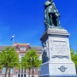 Statue of Wilhelm II on Plein, Hague, Holland — Stock Photo