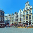 Guildhalls on the Grand Place, Brussels — Stock Photo