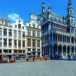 Guildhalls on the Grand Place, Brussels — Stock Photo #13966806