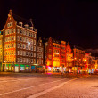 Main Street Damrak, Amsterdam — Stock Photo