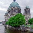 Berlin Cathedral (Berliner Dom), Germany - 图库照片