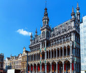 Kings House on Grand Place, Brussels, Belgium — Stock Photo