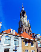 Nieuwe Kerk (New Church), Delft, Holland — Stock Photo