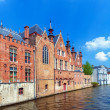 Old Houses of the Brugse Vrije, Bruge — Stock Photo