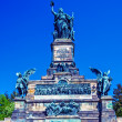 Niederwald Monument,   Ruedesheim on Rhein - Stock Photo