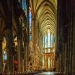 Interior of Cologne Cathedral, Germany — Stock Photo