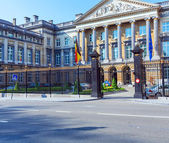 Palace of Nations, Brussels, Belgium — Stock Photo