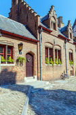 Medieval Gruuthuse Museum, Bruges — Stock Photo