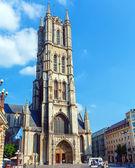 Sint bavo kathedraal, gent, belgië — Stockfoto