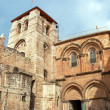 Panorama - Church of the Holy Sepulchre, Jerusalem — Stock Photo