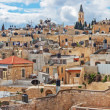 Panorama - Roofs of Old City, Jerusalem — Stock Photo