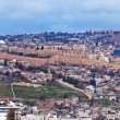 Panorama - Wall of Old City, Jerusalem — ストック写真