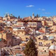 Stock Photo: Panorama - Roofs of Old City, Jerusalem