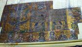 Byzantine Mosaics in Church of the Nativity, Bethlehem — Stock Photo