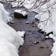 Winter River with Snow — Stockfoto #35622561