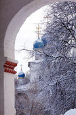 Church of Our Lady of Kazan in Kolomenskoye at Winter, Moscow — Stock Photo