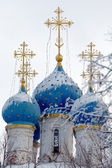 Church of Our Lady of Kazan in Kolomenskoye at Winter, Moscow — 图库照片
