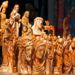 Wooden Christian Statues — Stock Photo