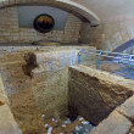 Ancient Bath of St. Joseph's Church in Nazareth — Stock Photo