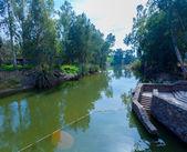 Baptismal Site on Jordan River — Stock Photo