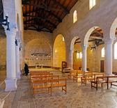 Mosaic Floor in Church of Multiplication, Tabgha — Stock Photo