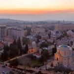 Jerusalem before Sunrise — Stock Photo