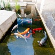 Fishes of Koi Pond — Stock Photo #35859453