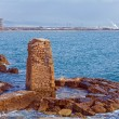 Stock Photo: Remains of Ancient Harbor, Acre