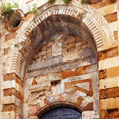 Arche with Muslim Ornament, Acre — Stock Photo