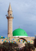 Jezzar Pasha Mosque, Acre — Stock Photo