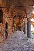 Khan al-Umdan Gallery, Acre — Stock Photo
