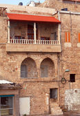 Typical Old Building in Acre — Stock Photo