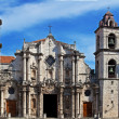 Panorama of Havana Cathedral Square — Stock Photo #37552187
