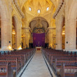Interior of Havana Cathedral — Stock Photo