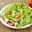 Royalty-Free Stock Photo: Fresh salad with chicken and tomatoes