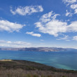 Panoramic view of Cres island in Croatia — Stock Photo #13999842