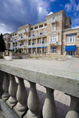 Geleneksel neoklasik hotel opatija, hırvatistan — Stok fotoğraf