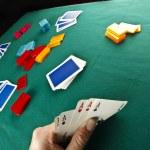 Poker table — Stock Photo #14001231
