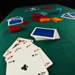 Poker table — Stock Photo #14001251
