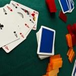Poker table — Stock Photo #14001254
