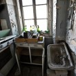 Old abandoned vintage kitchen - Foto Stock