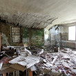 Old abandoned vintage room - Foto Stock