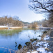 River in winter season — Stock Photo #14001518